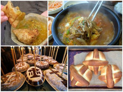 Traditional funeral food around the world