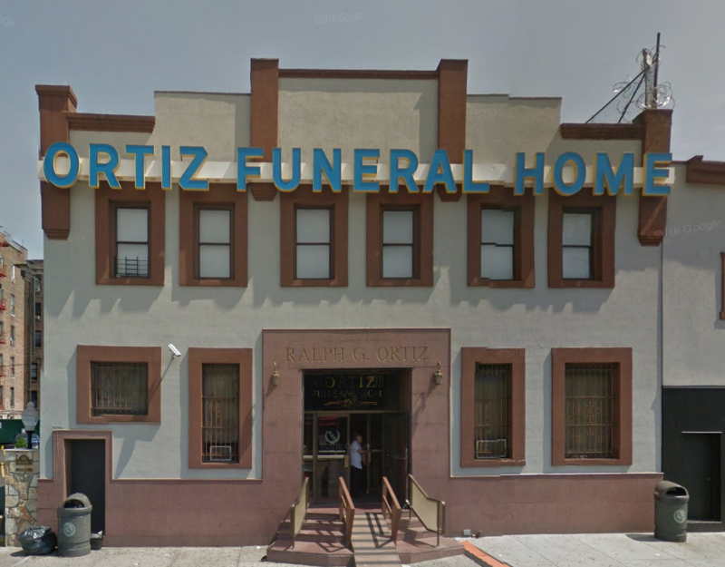 Ortiz Funeral Home Southern Blvd Bronx Ny