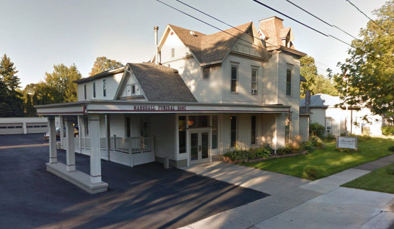 Marshall Funeral Home Greenville Mi